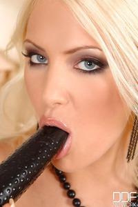 Black Lace Glamour Porn