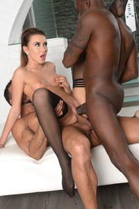 Katrin Tequila Enjoying Interracial Double Penetration