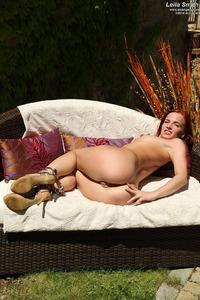 Leila Smith Sexy Redhead Teen