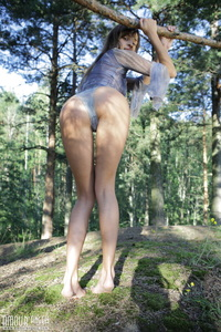 Hottie In The Woods