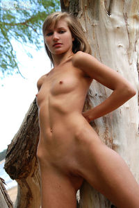 Shapely Teen Outdoor