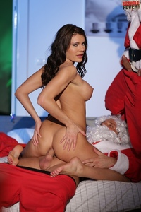 Busty Hottie A Holed By Santa