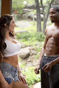 August Ames Interracial