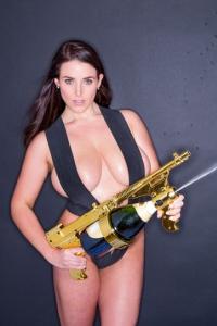 Busty Vixen Angela White Titfucked And Facialized