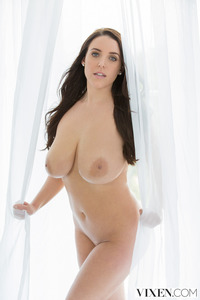 Busty Vixen Angela White Titfucked And Facialized