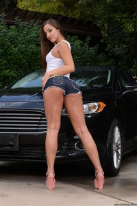 Amirah Adara Washes A Car And Gets Ass Nailed