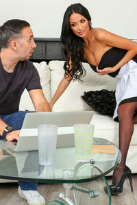 Anissa Kate Hot Maid Getting Anal