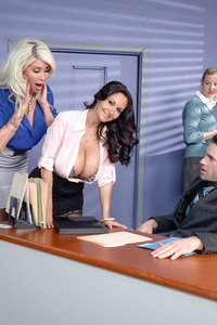 Ava Addams And Riley Jenner