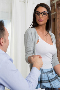 August Ames Office Slut Gets Fucked