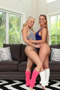 Mature Lesbians Anikka Albrite And Cherie Deville