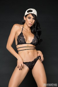 Heather Vahn In Sexy Lingerie