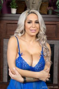 Huge Fake Boobed MILF Pornstar Alyssa Lynn