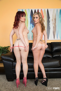 Pornstars Jessica Ryan And Sasha Heart