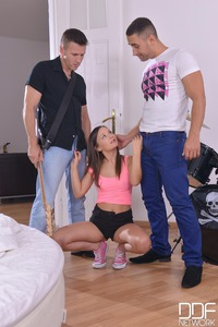Young Anina In Anal Fucking