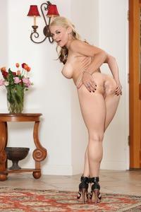 Sexy Milf Bombshell  Sarah Vandella Strips