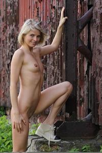 Sexy Blonde Babe Nastya C