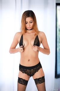 Jade Jantzen In Sexy Black Stockings
