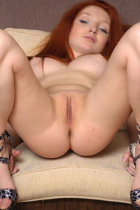 Gorgeous Redhead Girl Michelle
