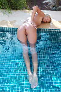 Paola In The Pool