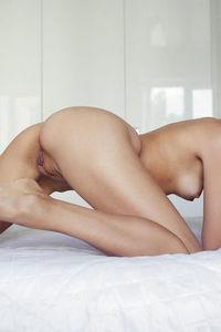 Skinny Tristana Naked In Bed