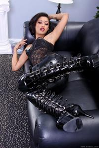 Skin Diamond Latex Fetish