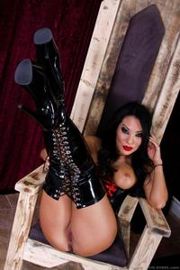 Latex Mistress Asa Akira