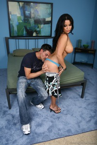 Hot Latina MILF Sophia Lomeli Gets Drilled
