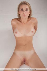 Beautiful Blonde Stripping