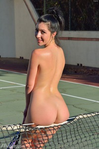 Carrie - Naked Tennis