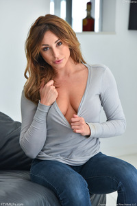 Christiana Strips Out Of Her Jeans