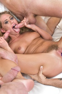 Hot Blonde Brutal Face Fuck