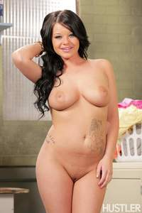 Tattoed Rounded Hottie Strips
