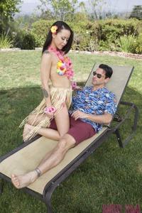 Mia Austin In Island Lays