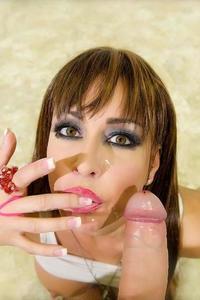 Jessica Jaymes Sucking Cock