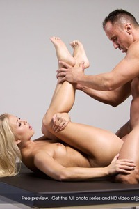 Pretty Blonde Cayla Lyons Rides On A Cock