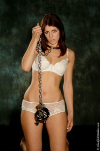 Beauty Teen Handcuffed