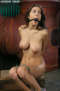 Teen Slave Mouth Torture