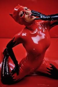 Latex Catwoman