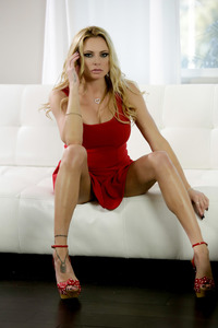 Briana Banks Little Red Dress