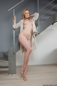 Jaqueline In Stairs