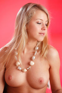 Busty Hot Naked Blonde