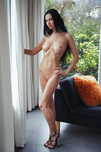 Lydia Posing Naked