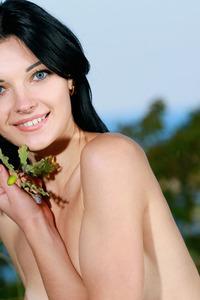 Gorgeous Florina Poses Naked Outdoors