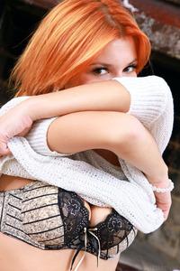 Redhead Russian Babe Violla A
