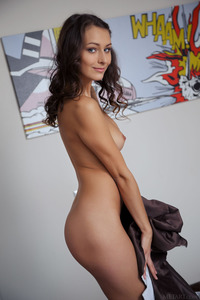 Gorgeous Brunette Yarina A