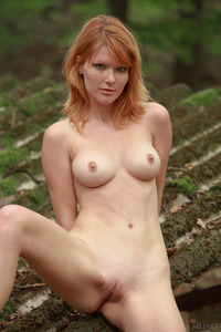 A born naturist, Mia Sollis