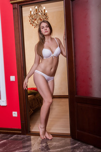 Naturally beautiful Moldovan brunette Bella Libre