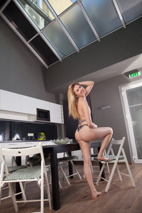 There?s no question adorable blonde Finnish babe Lia Kate is in a fun, flirty mood