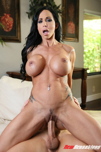 Busty Jewels Jade Takes Cum On Her Tits