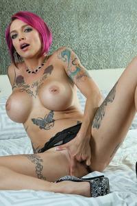 Big Boobed Tattooed Anna Bell Peaks